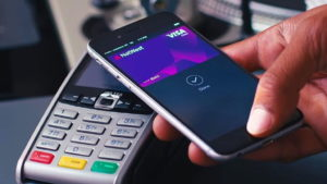 Смартфон с модулем NFC