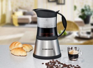 Гейзерная или сифонная кофеварка